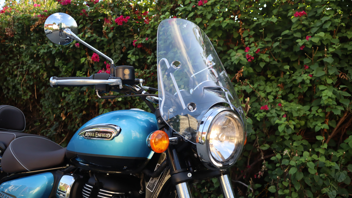 Royal Enfield Meteor 350 Supernova Windshield
