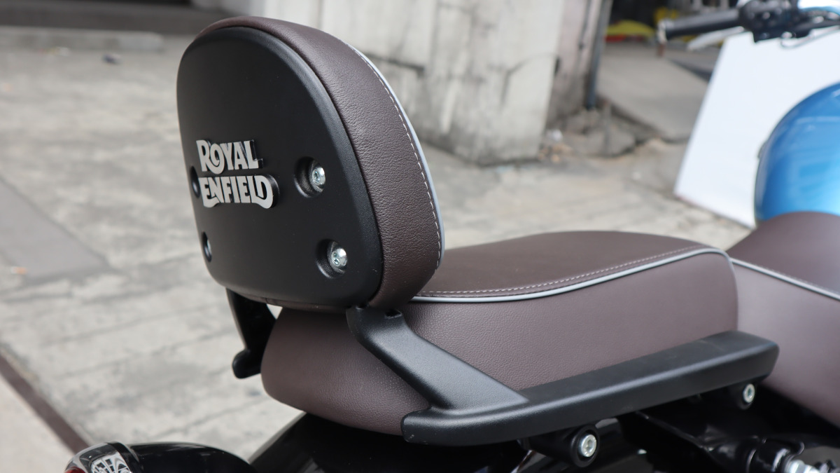 Royal Enfield Meteor 350 Supernova Saddle