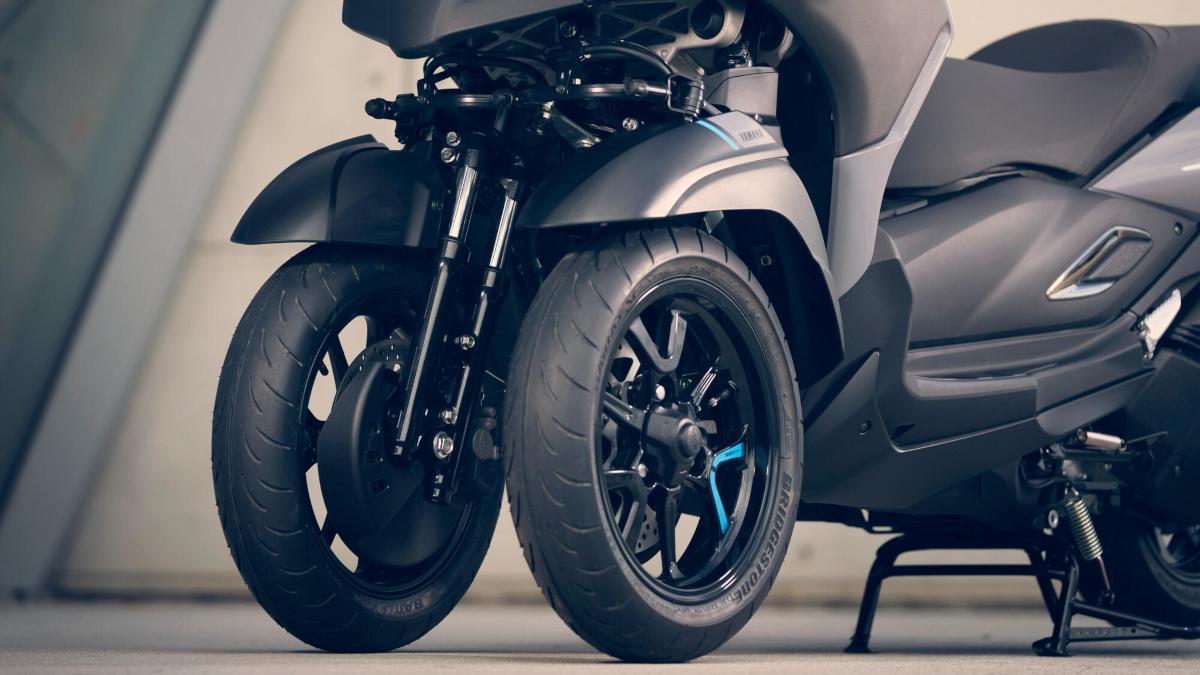 Yamaha Tricity 300 Wheels