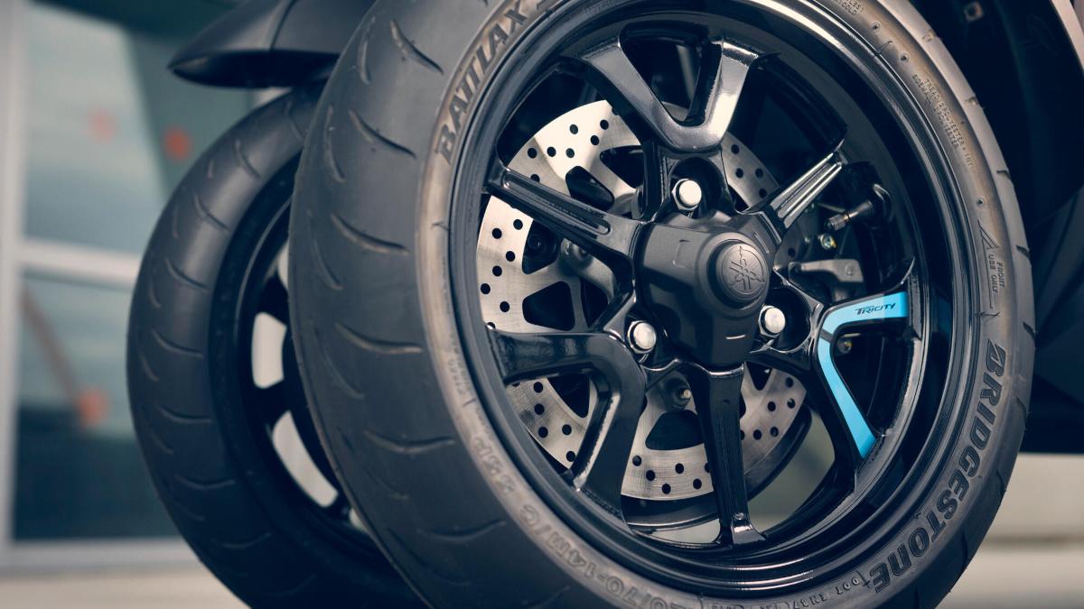 Yamaha Tricity 300 Braking System