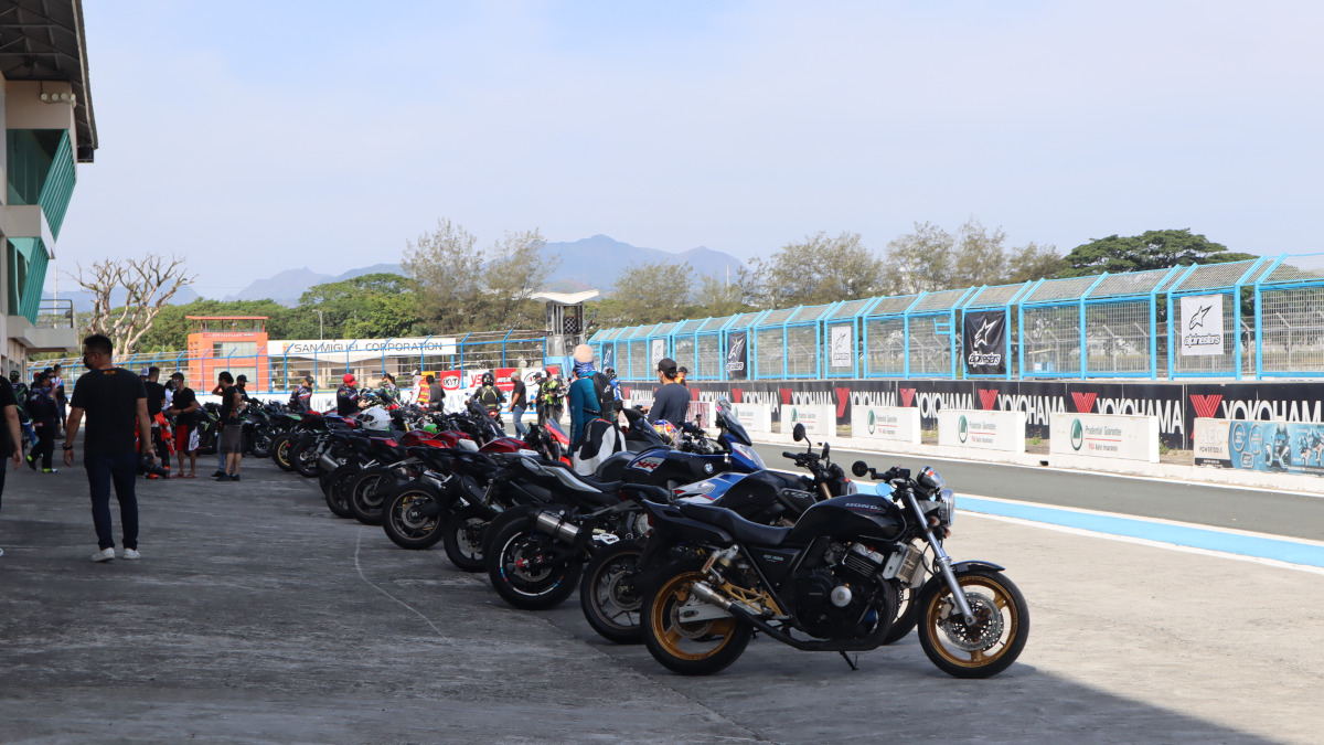 Assortment of motorcycles