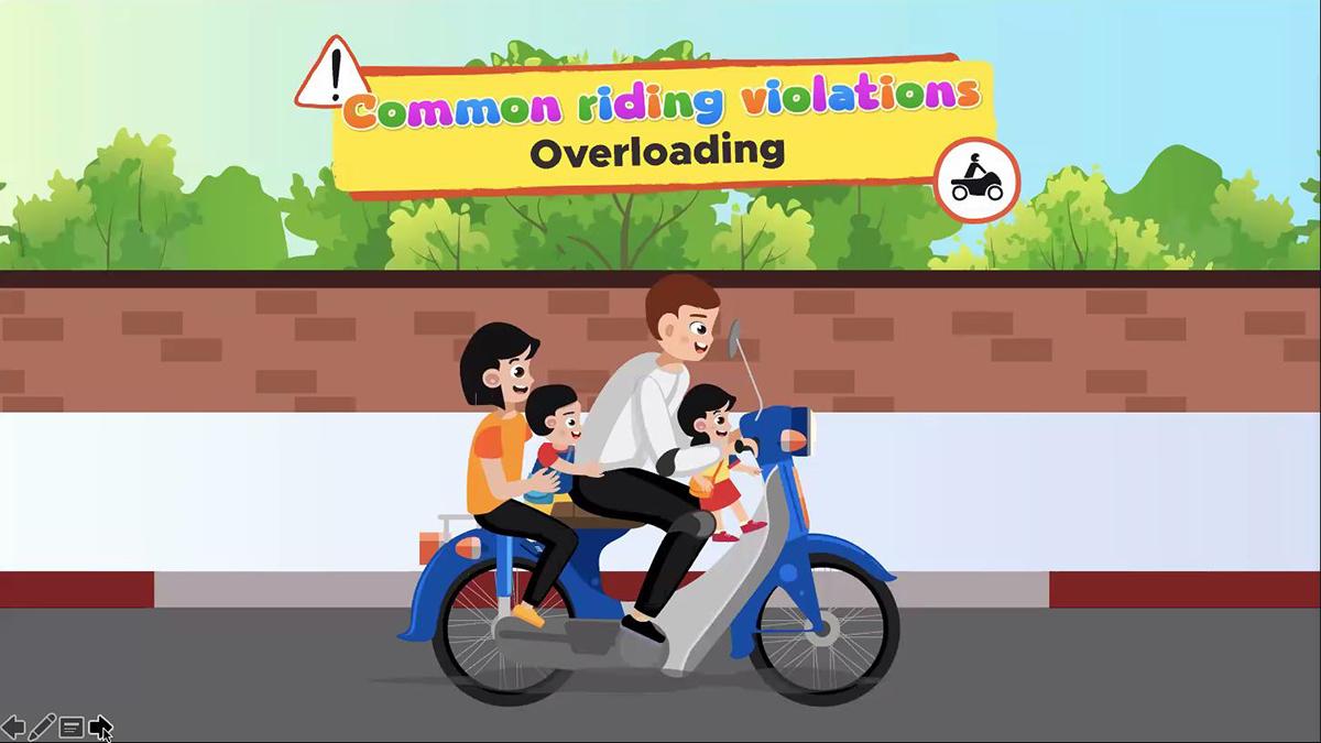 Common Riding Violations - Overloading