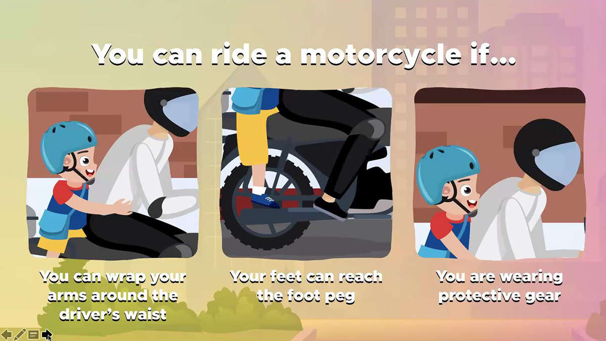 Road Safety Reminders When Riding a Motorcycle