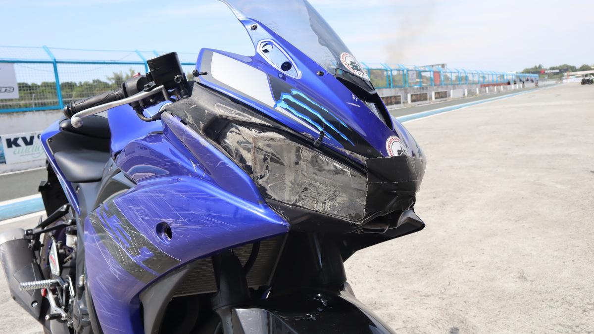 2018 Yamaha YZF-R3 Windshield