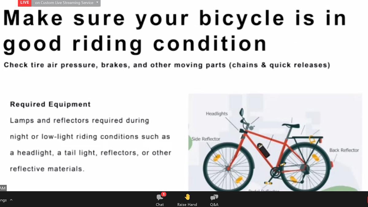 DOTr-SM Bike Manual