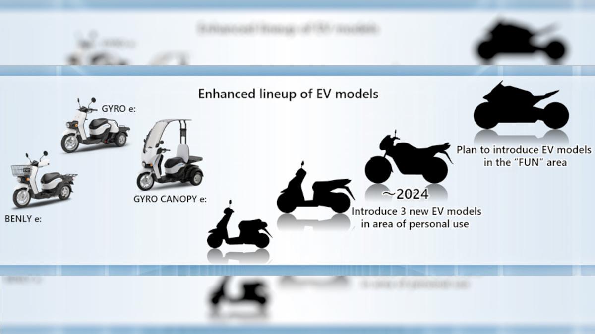 Honda electric motorcycles