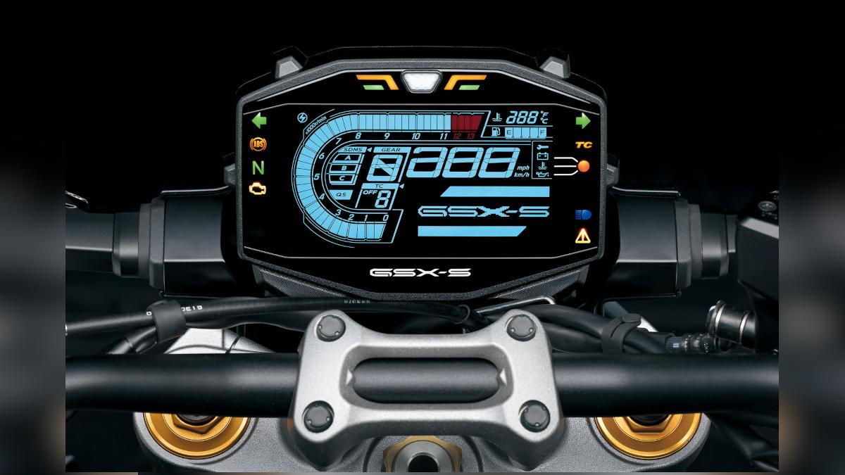 Suzuki GSX-S1000 LCD Dashboard