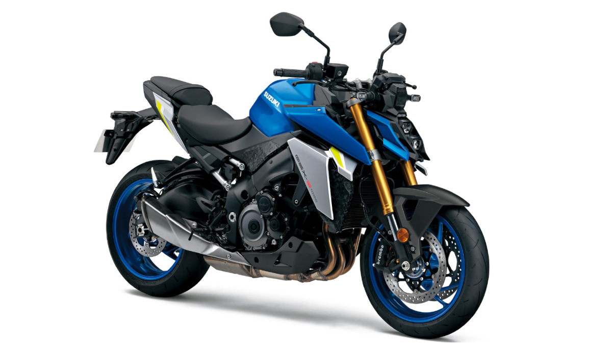 Suzuki GSX-S1000 Metallic Triton Blue