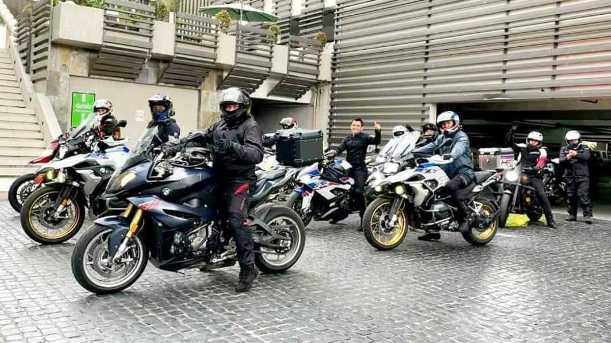 Willie Deslate and the BMW Riding Community