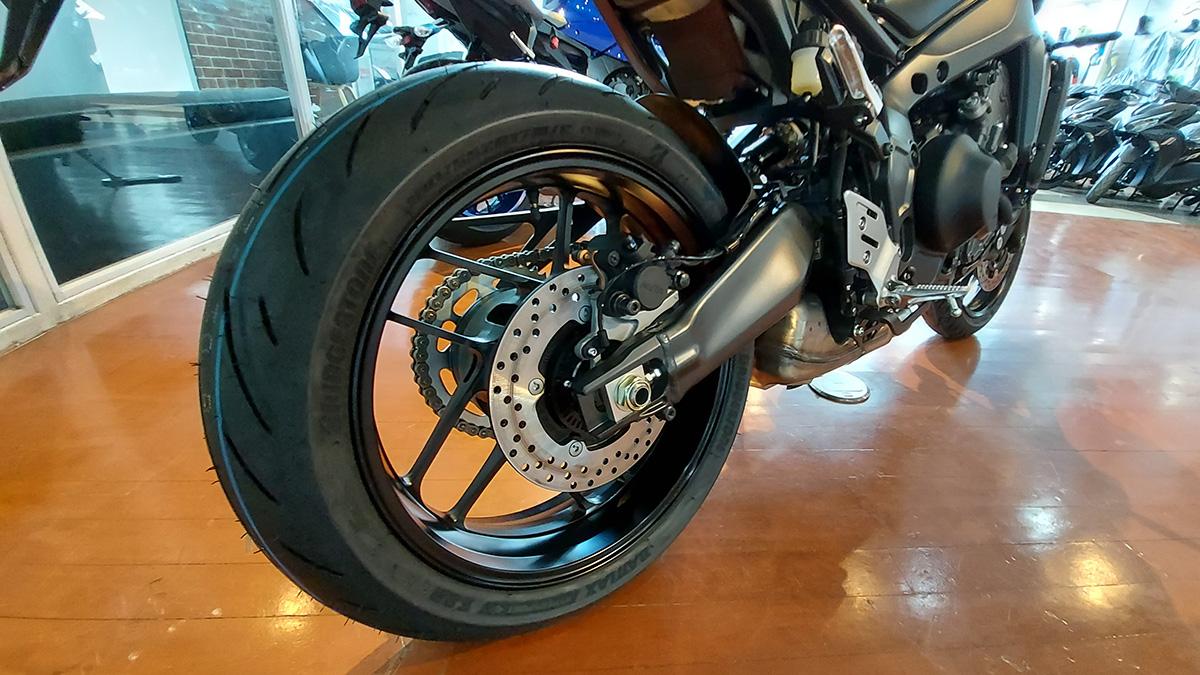 Yamaha MT-09 Wheelbase