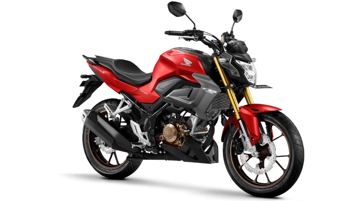 Honda CB150R Streetfire Fury Matte Red