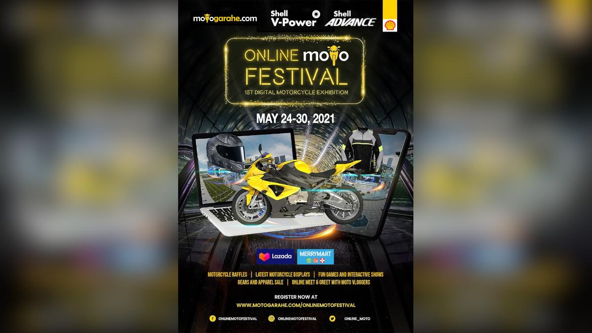 Motogarahe Online Moto Festival Poster