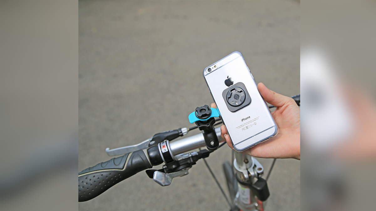 Intuitive Cube X-Guard Mirror Mount A+ Phone Mount