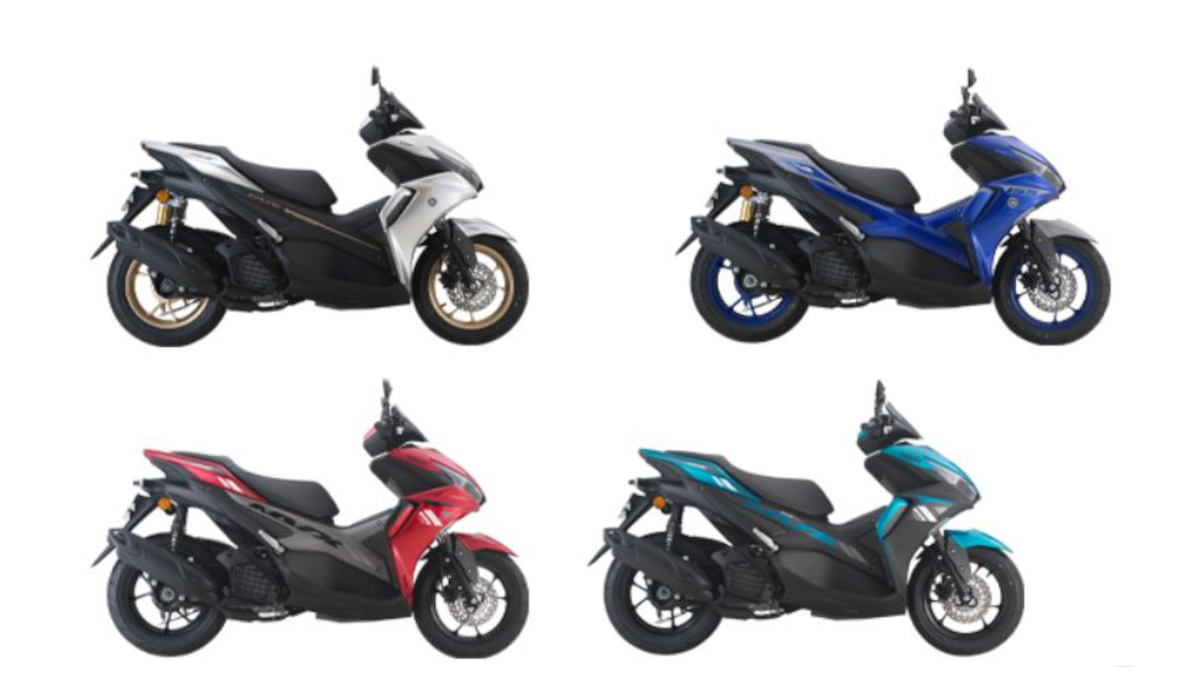 Yamaha NVX Color Variants