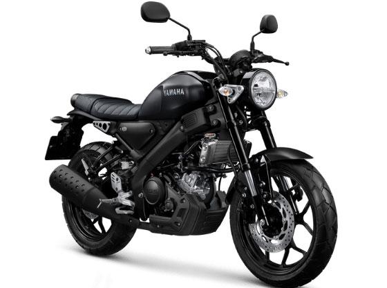 2021 Yamaha XSR155 Matte Black Elegance