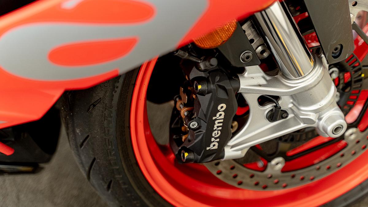 2021 Aprilia RS 660 Brembo calipers