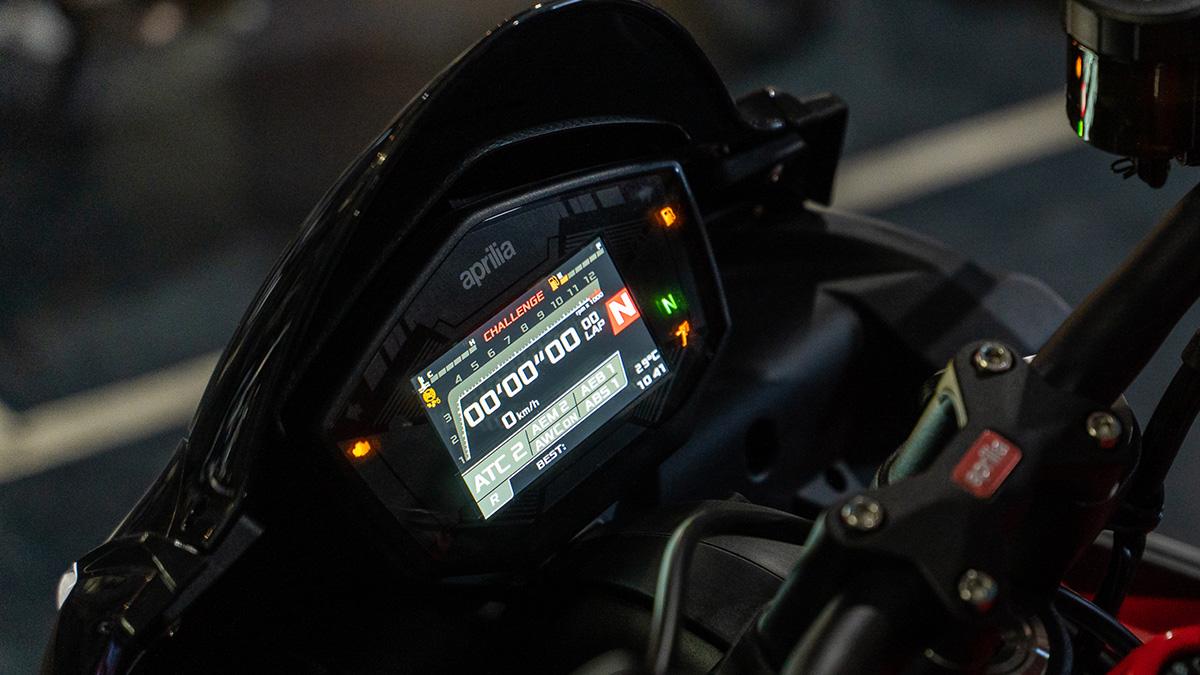 2021 Aprilia RS 660 Instrument Panel