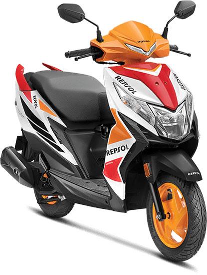 2021 Honda Dio Repsol Edition: Specs, Features, Photos