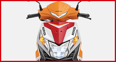 2021 Honda Dio Repsol Headlamp