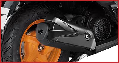 2021 Honda Dio Repsol Muffler Protector