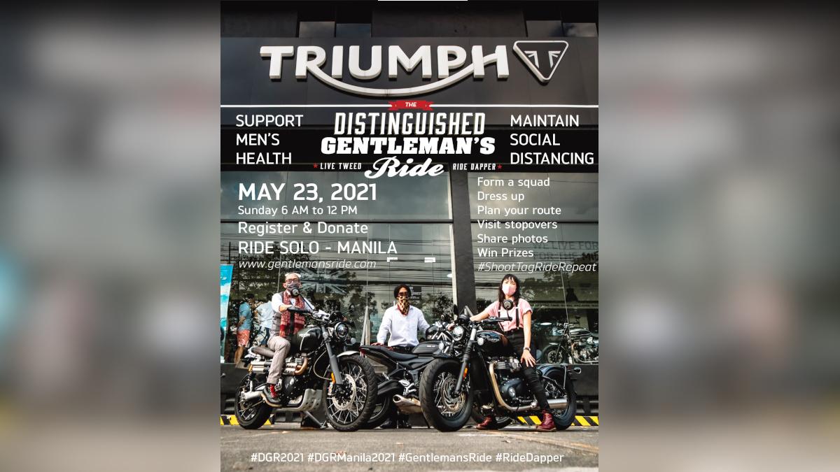 2021 Distinguished Gentleman's Ride