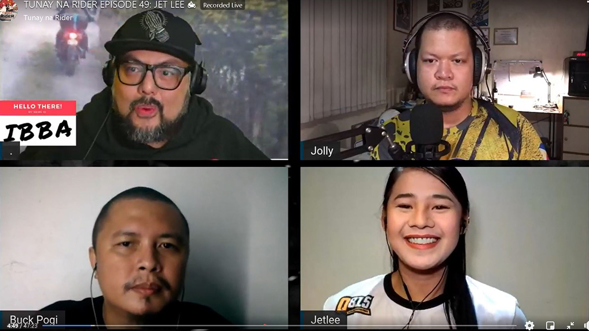 Jet Lee in Tunay na Rider Podcast