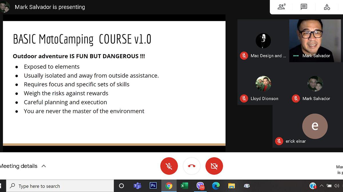 Motocamping Basic Motocamping Course