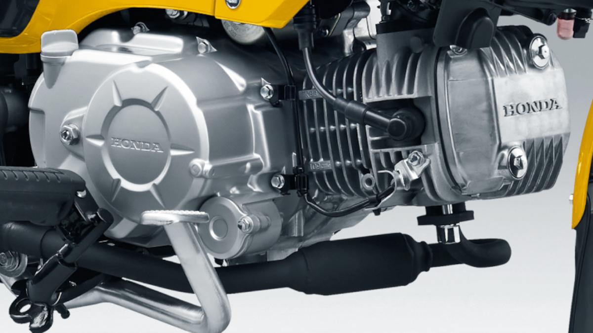 Honda Cross Cub 110 engine