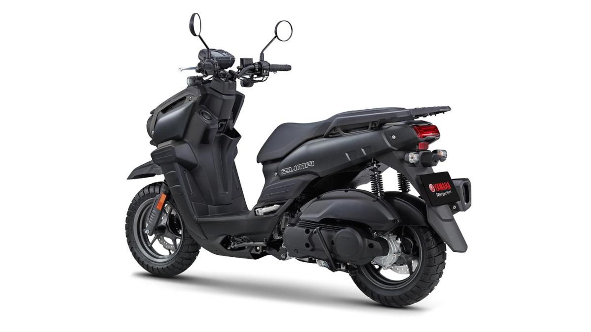 2022 Yamaha Zuma 125 Matte Black