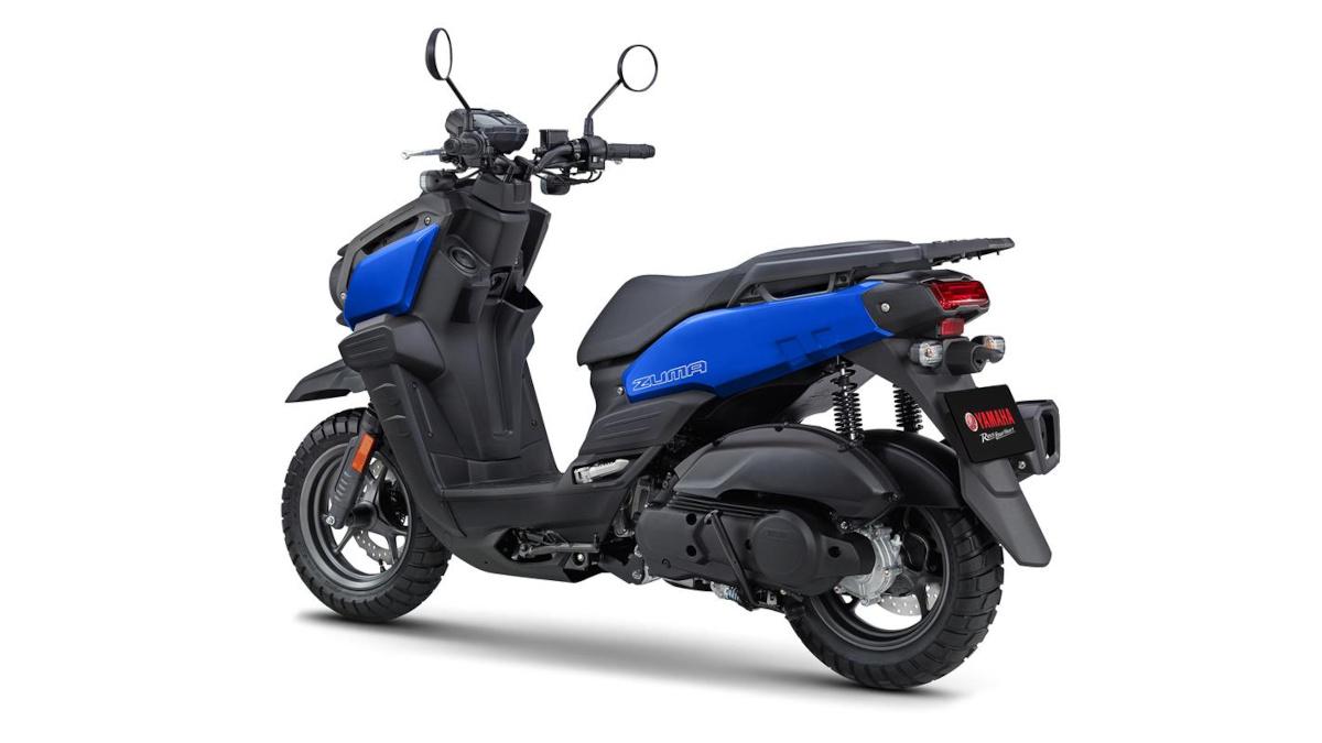2022 Yamaha Zuma 125 Team Yamaha Blue