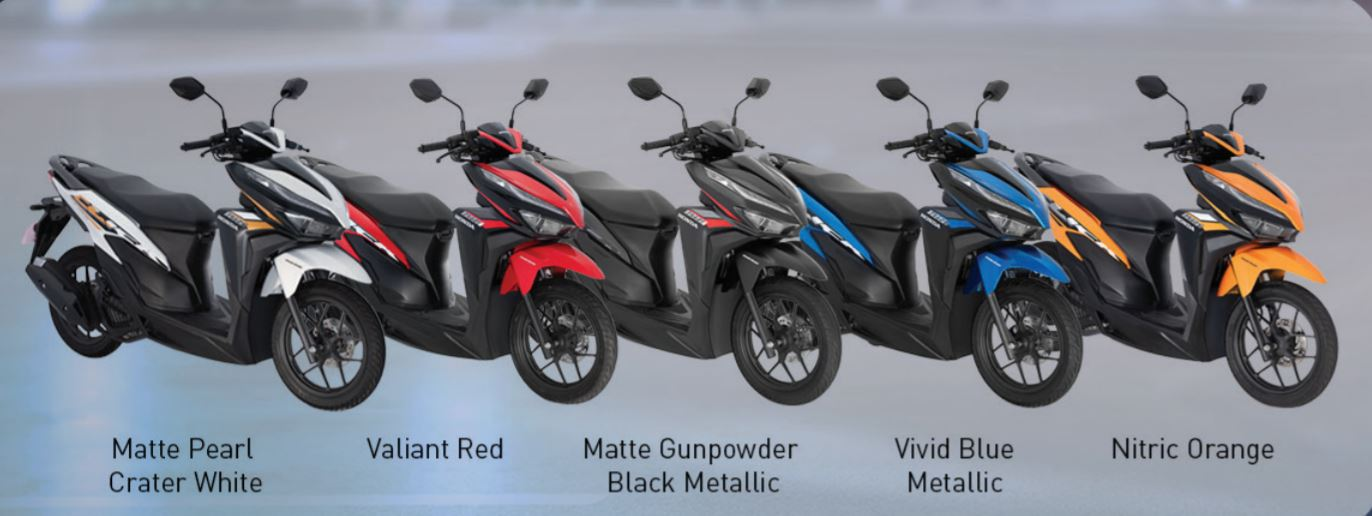 2021 Honda Click 125i Color Scheme