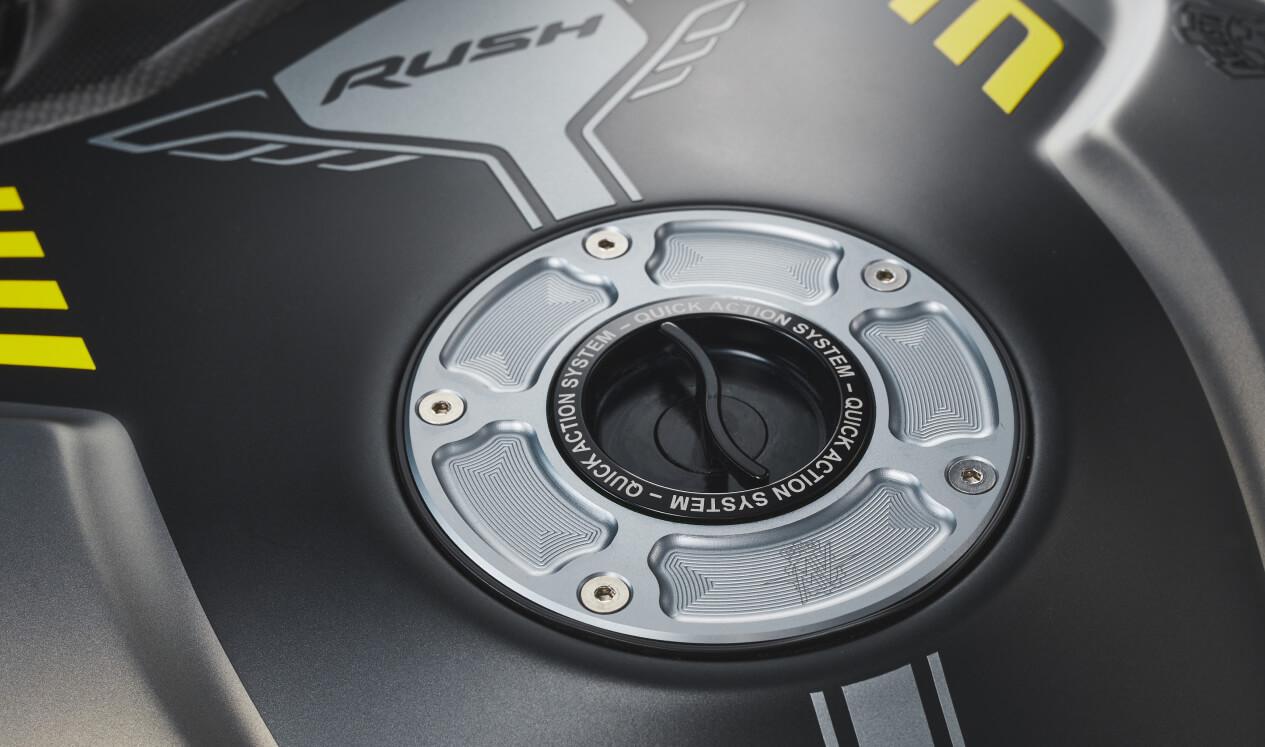 2021 MV Agusta Rush 1000 Quick Action System