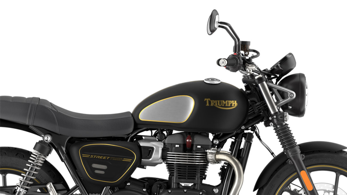 2021 Triumph Street Twin Gold Line Limited Edition