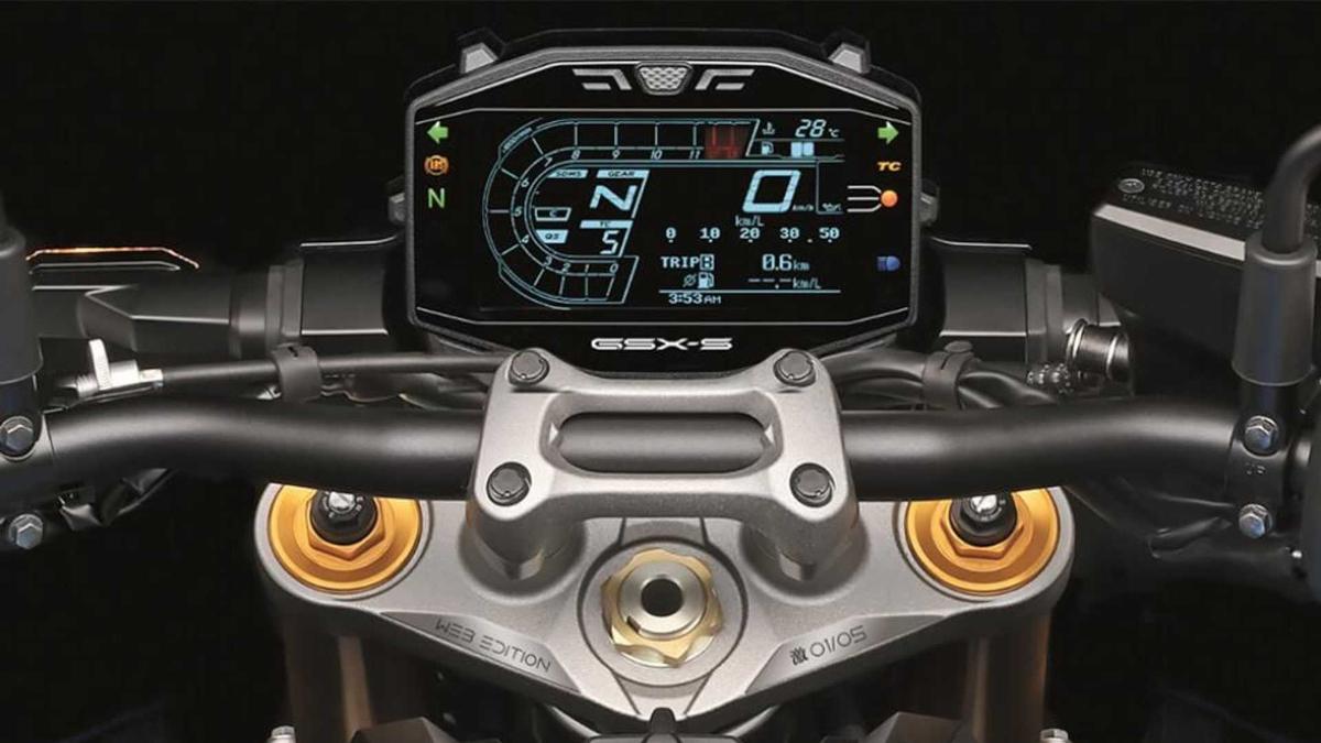 2022 Suzuki GSX-S1000 LCD Instrument Panel
