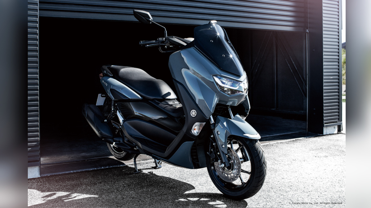 Phantom Blue 2021 Yamaha NMax 125