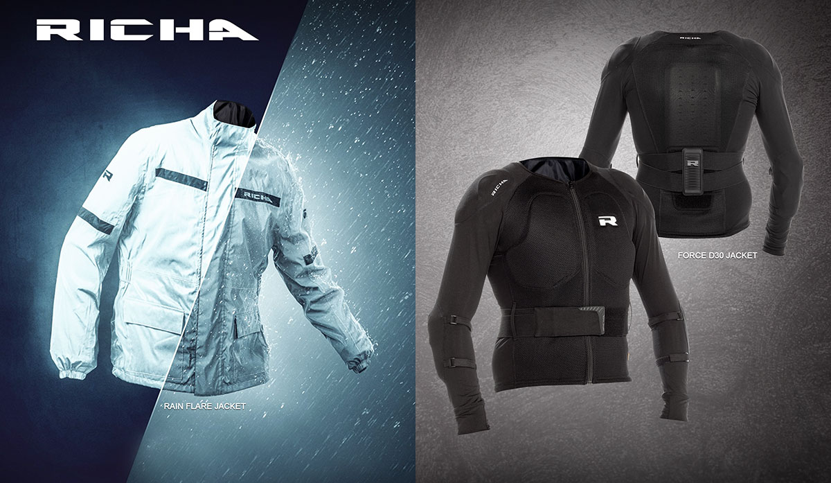 Rain Flare and Force D30 jackets
