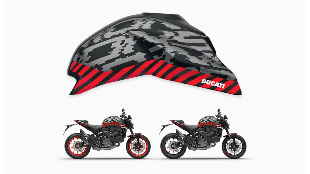 2021 Ducati Monster customization kit, Pixel
