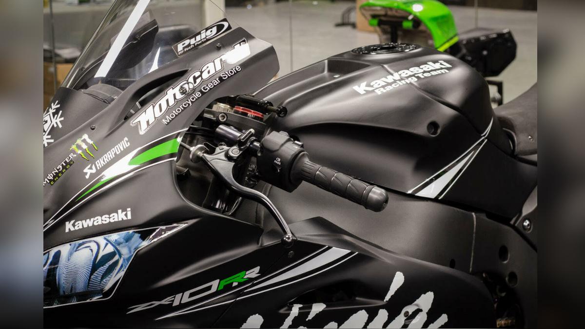 2016 Kawasaki Ninja ZX-10RR Handlebar