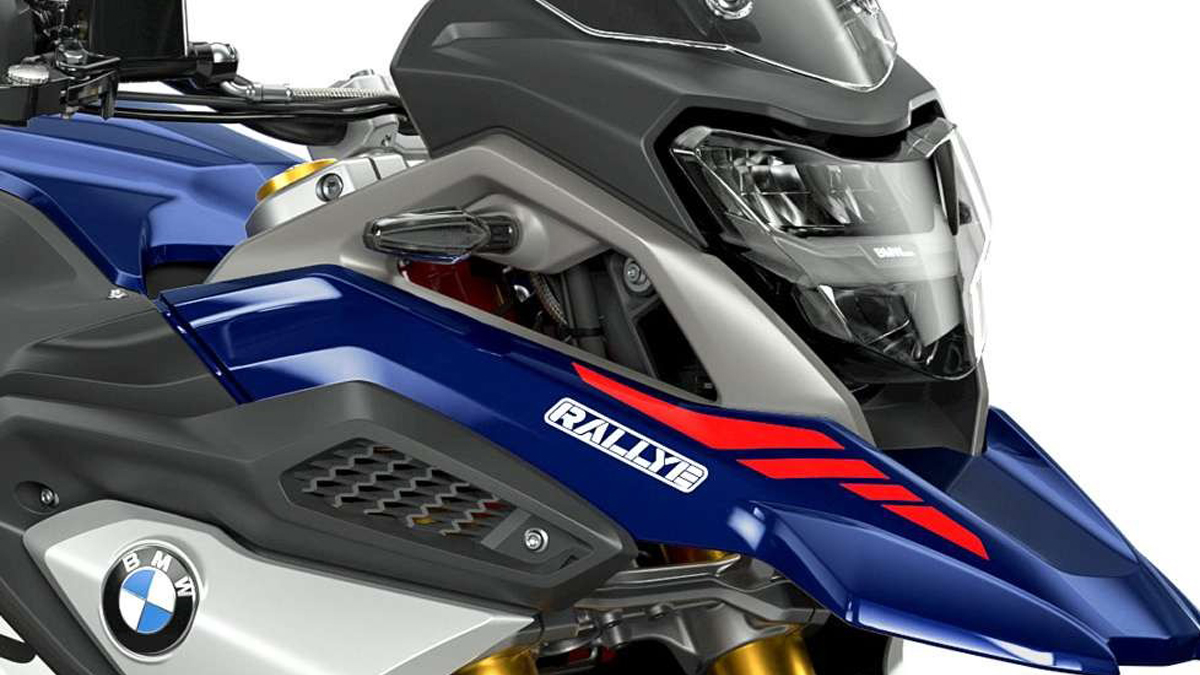 2021 BMW G310 GS Rallye edition headlight