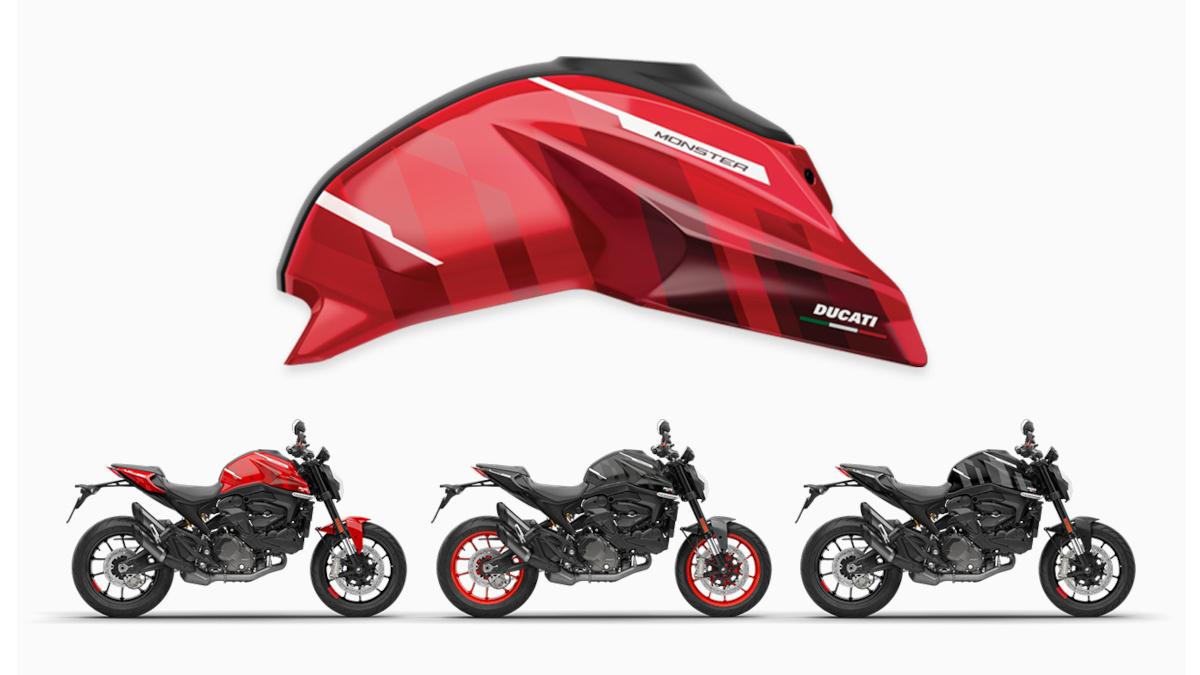 2021 Ducati Monster customization kit,GP