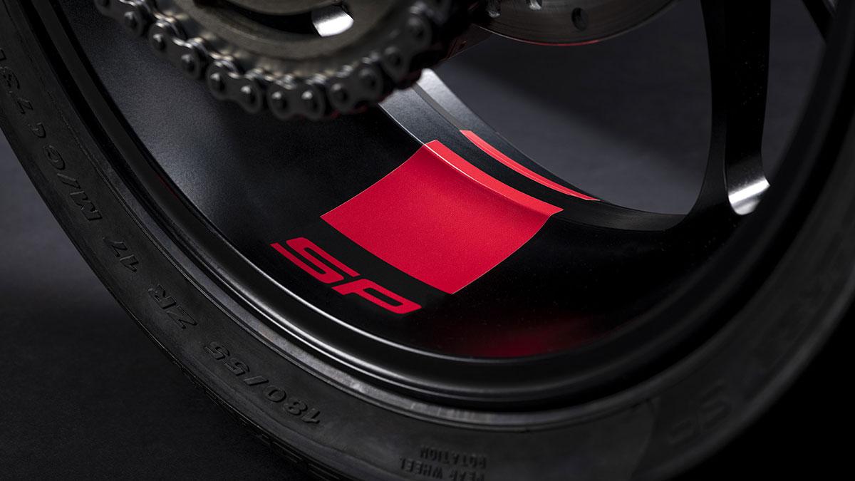2021 Ducati Hypermotard 950 SP decals