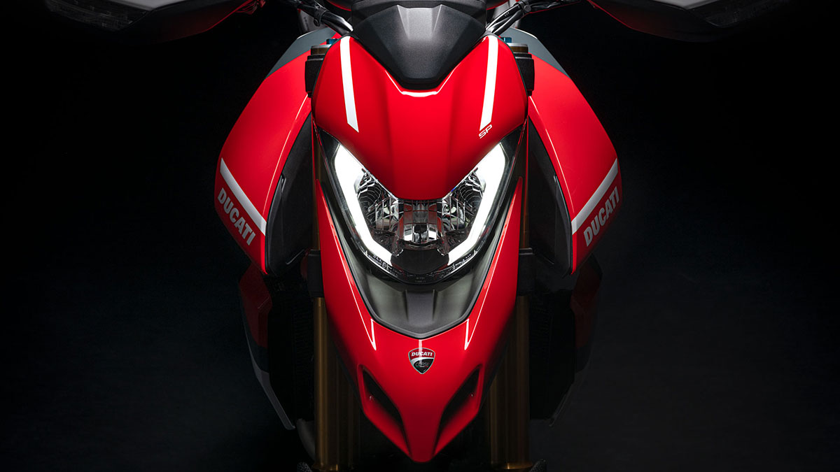 2021 Ducati Hypermotard 950 SP Headlight