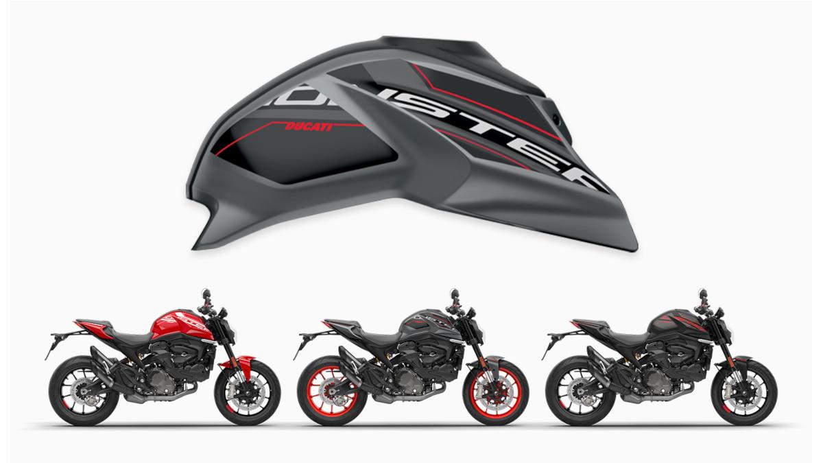 2021 Ducati Monster customization kit, Logo