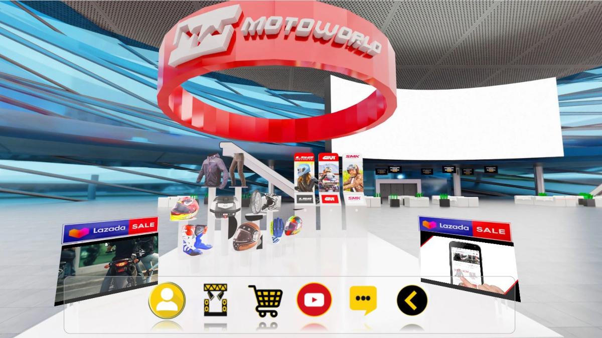 Motogarahe Online Moto Festival Retailer's Booth