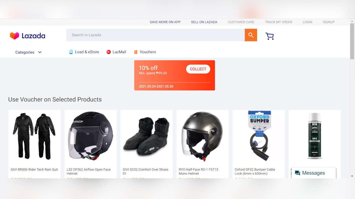 Lazada Product Page