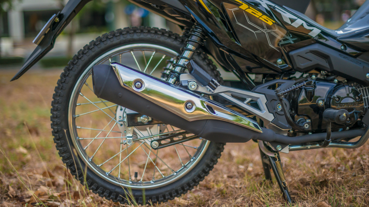 2021 Honda XRM125 DS Exhaust