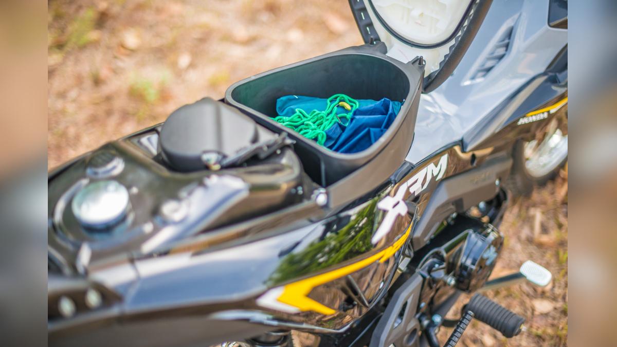 2021 Honda XRM125 DS Underseat Storage
