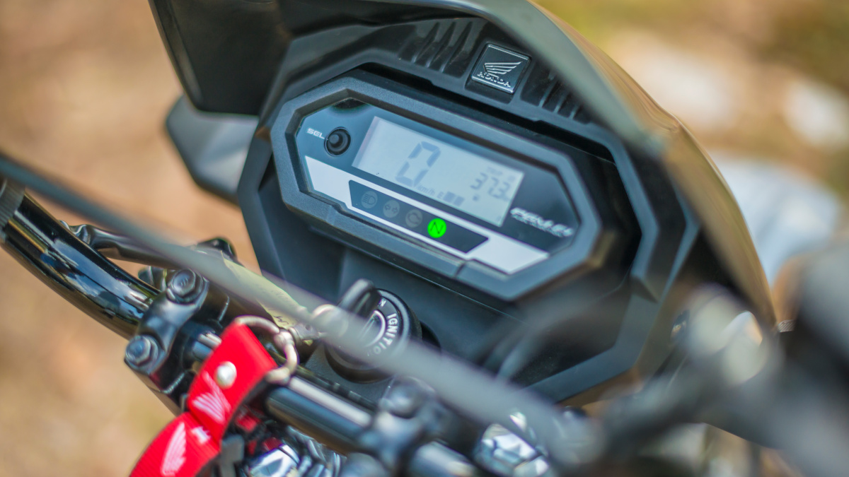 2021 Honda XRM125 DS Digital Panel