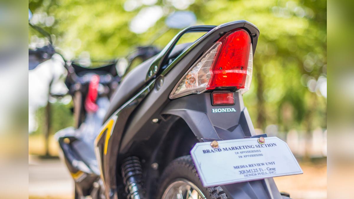 2021 Honda XRM125 DS Taillight