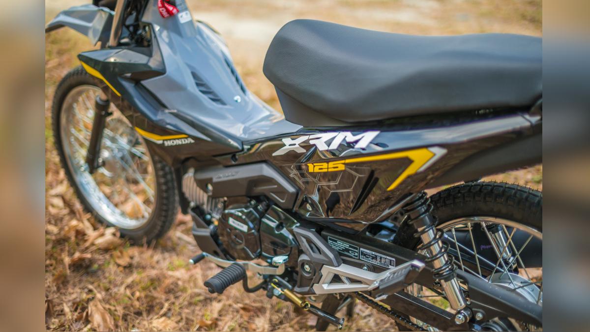 2021 Honda XRM125 DS Saddle